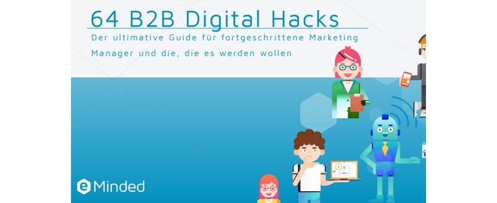 Whitepaper: 64 Digital Hacks für das B2B Marketing – Der ultimative Guide