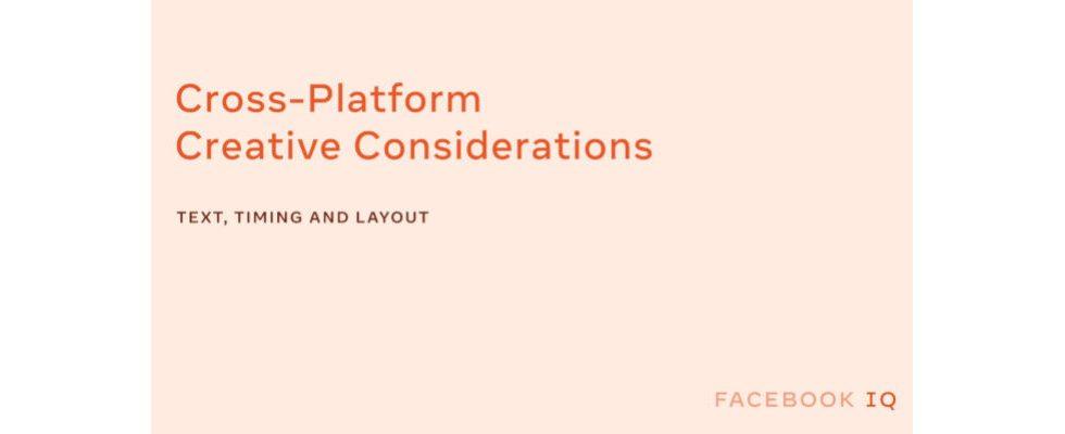 Brand Messaging bei Facebook: Blick aufs Detail