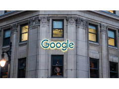 Google Logo am Gebäude