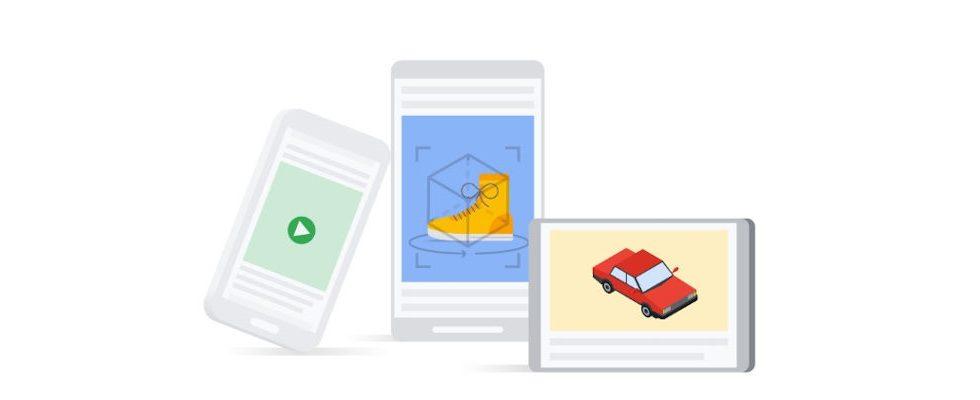 Neue Werbeoptionen bei Google: Advertister können mit Swirl jetzt 3D Ads schalten