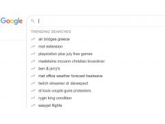 Googles Test für trendende Suchanfragen