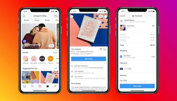 Tschüss, Herzchen: Instagram testet den Shop Tab in der Navigationsleiste
