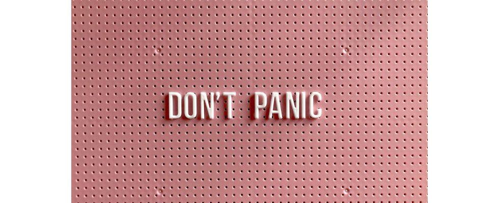 Don't Panic: So gehst du professionell und souverän mit einer Kündigung um