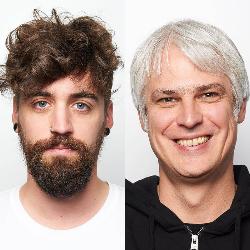 Mike Zeiler und Patrick Benner