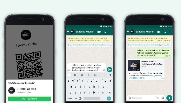 Neue Business Features bei WhatsApp