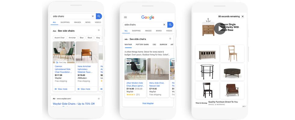 Google liefert Updates für Search, Shopping und Display Ads