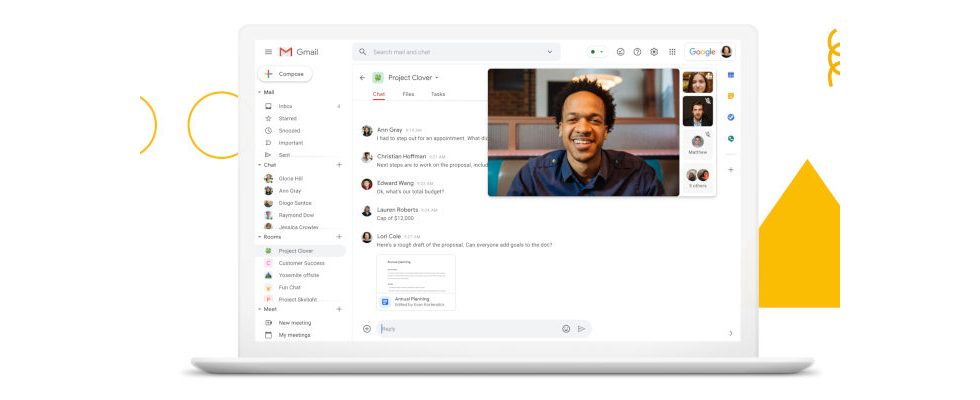 Gmail-Integration: Kommt jetzt der Angriff auf Microsoft und Slack?