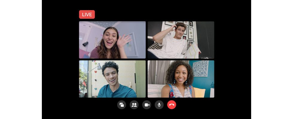Facebook Rooms können jetzt über Facebook Live gestreamt werden