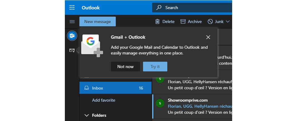 Outlook User können jetzt Google Calendar für Web integrieren