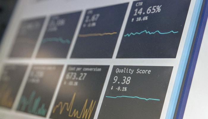 Performance Data auf Bildschirm