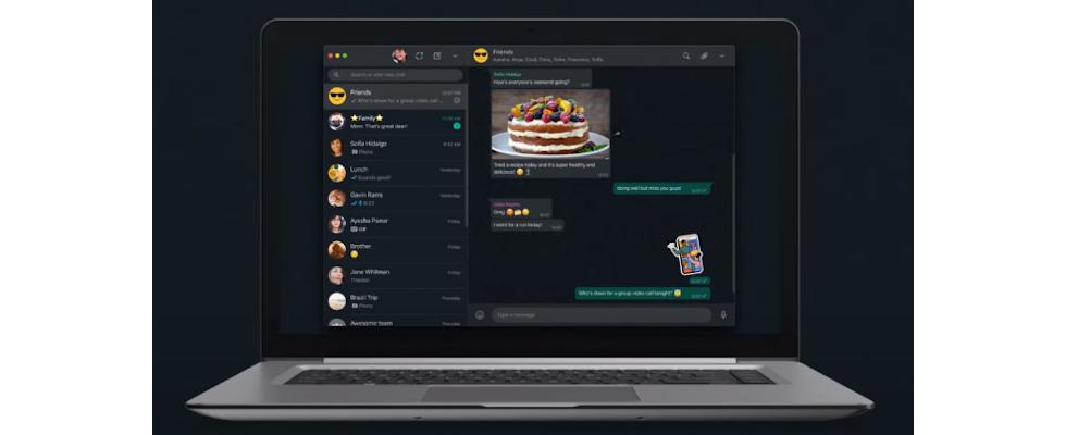 WhatsApp launcht Dark Mode für Desktop und bringt animierte Sticker