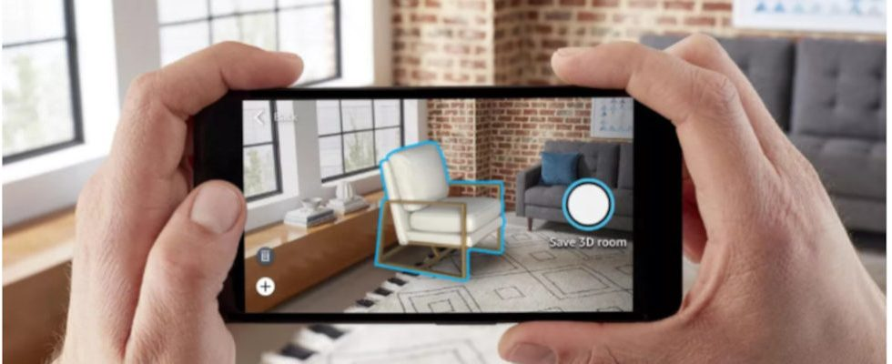 Room Decorator: Amazons App updatet die AR-Funktion