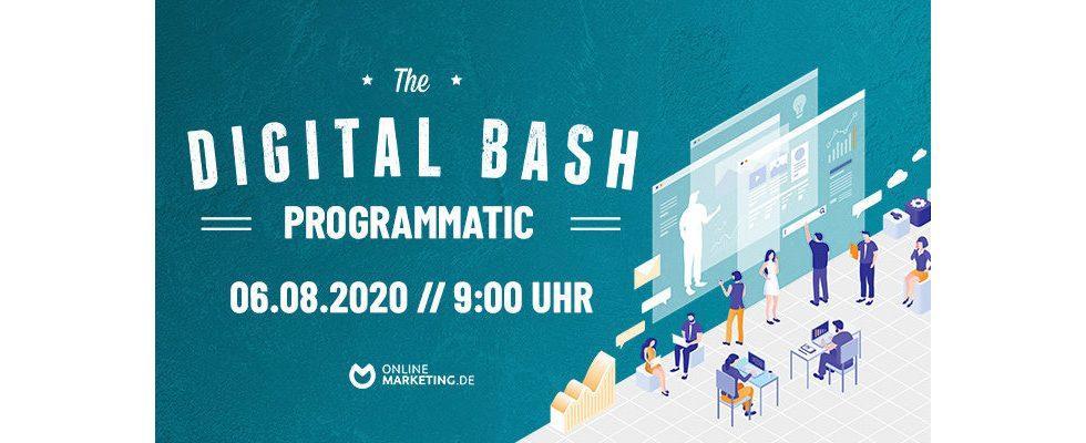 The Digital Bash –  Programmatic Advertising: Deine Insights von Branchen-Experten