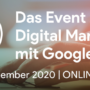 Die GMP-Con 2020 Online: Boost fürs Google Marketing und Cloud Platform Know-how
