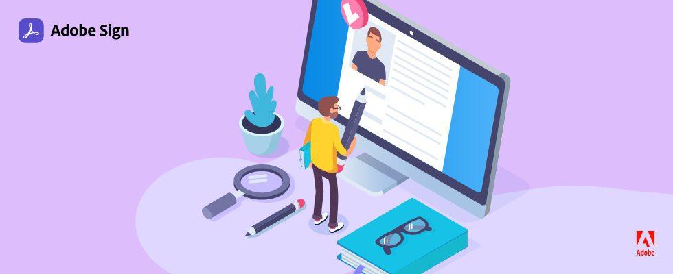 Webinare: Ob HR, Sales oder im Daily Business – Adobe Sign optimiert deine Workflows