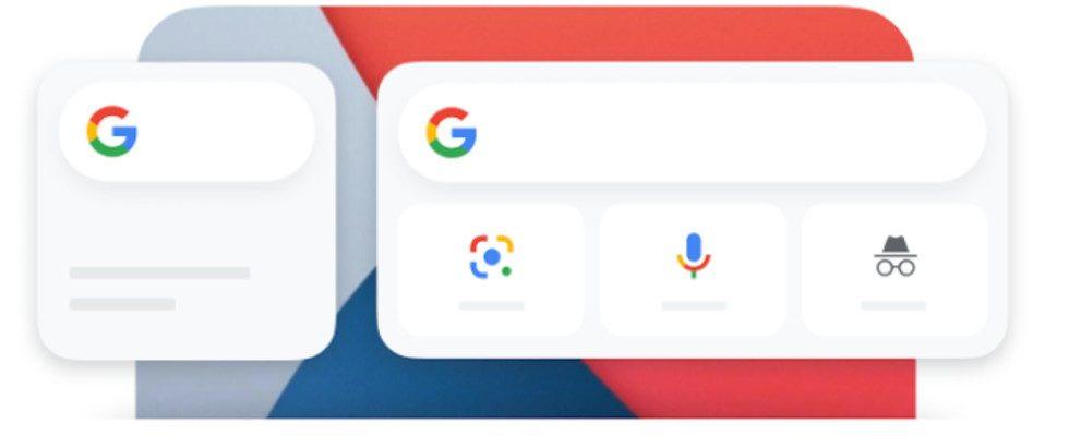 Google bringt das Search Widget auf iOS-Geräte