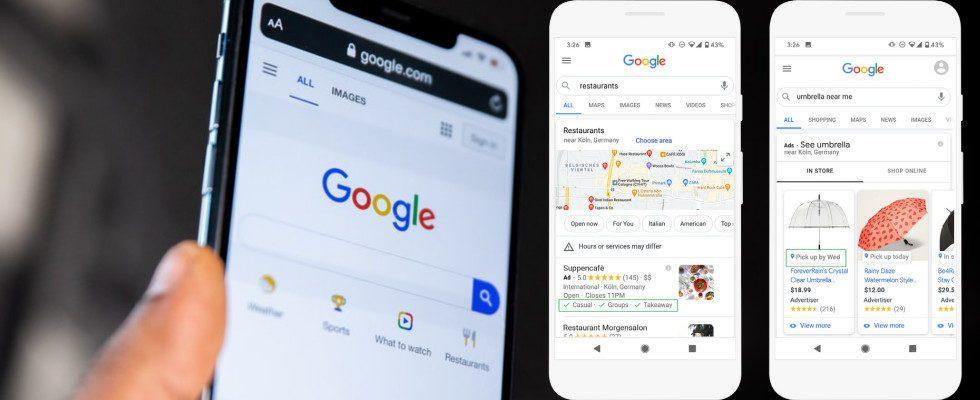 """""""Später abholen"""" und Smart Bidding für Ladenverkäufe: Google My Business stärkt lokale Geschäfte"""