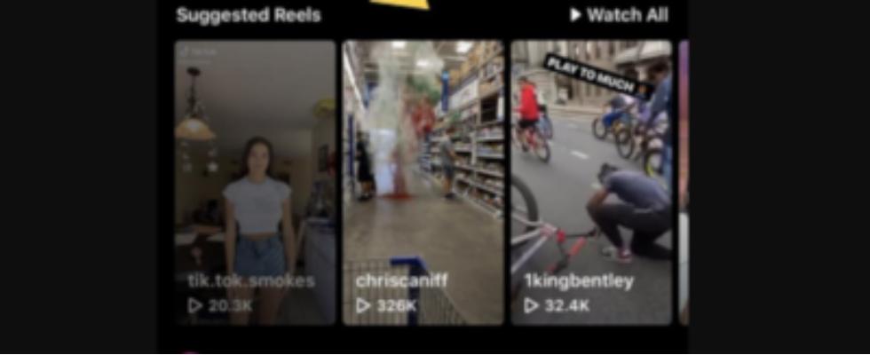 Nächste Chance für Reels: Suggested Reels kommen in den Instagram Feed
