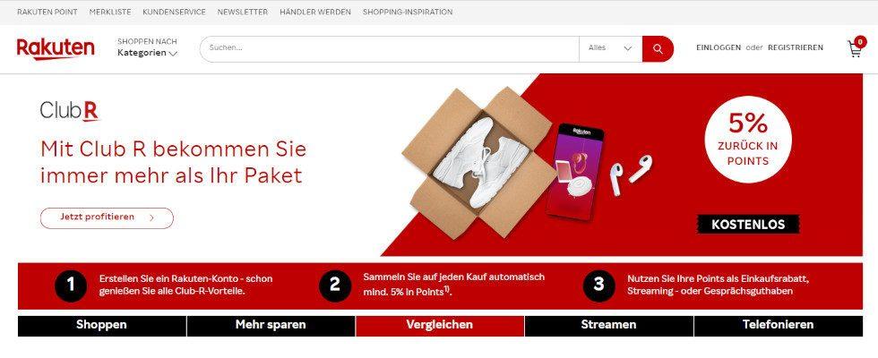 Rakuten schließt Marktplatz in Deutschland