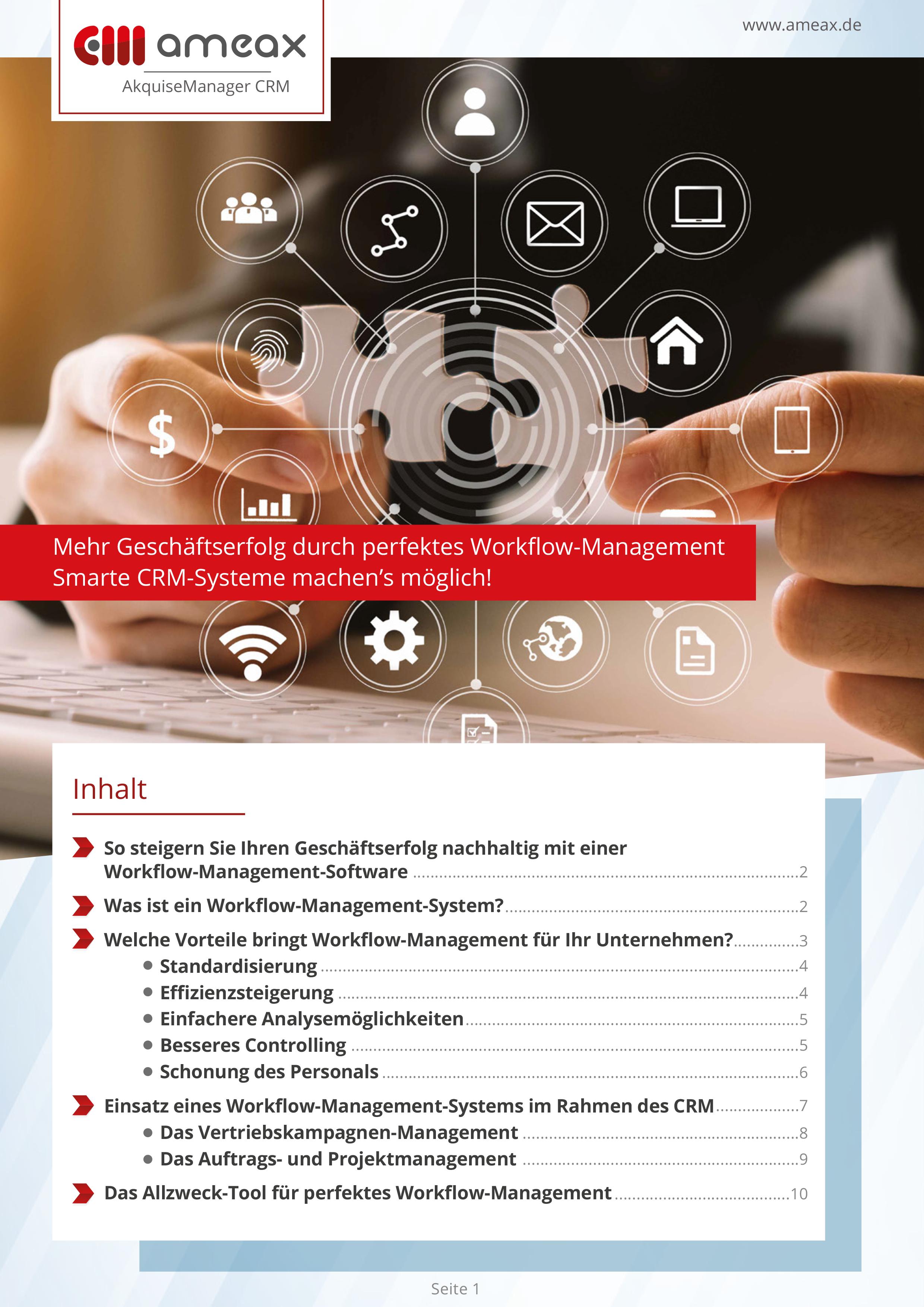 Mehr Geschäftserfolg durch perfektes Workflow-Management