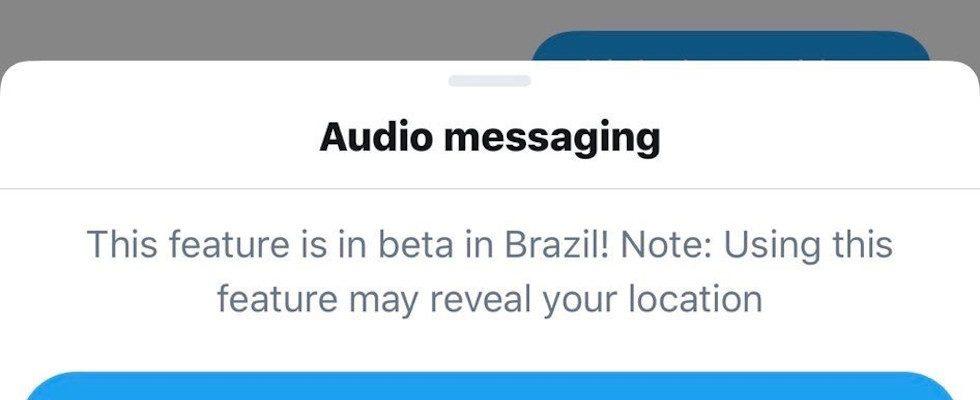 Twitter testet Audio Messaging in den DMs