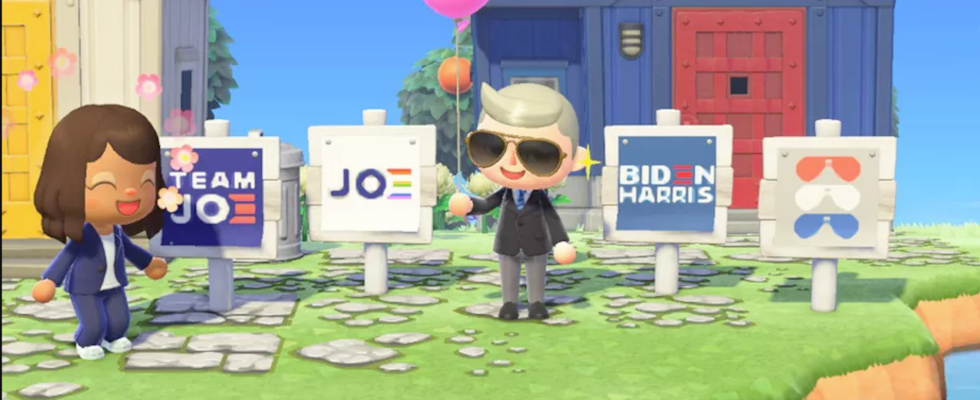 Wahlkampf in der Gaming-Welt: Joe Biden startet Kampagne in Animal Crossing