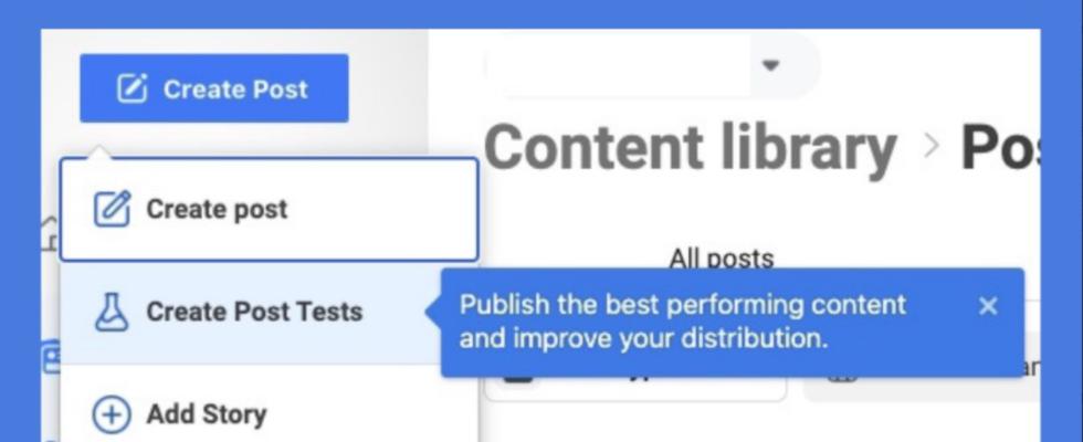 Facebook Creator Studio Update: A/B-Tests für Video Posts