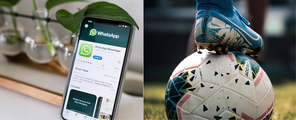 Wie Fußballvereine mit WhatsApp die Verbindung zu  Fans und Kunden stärken können