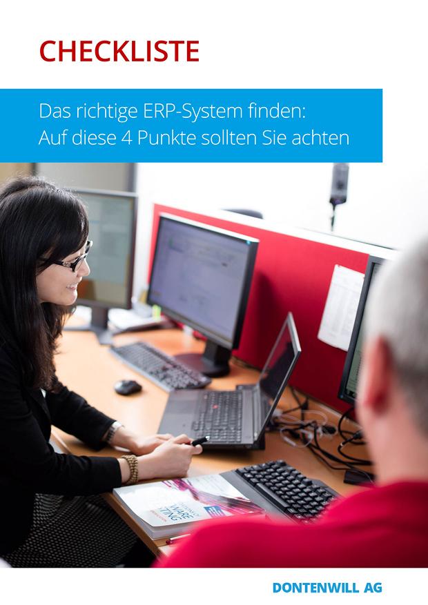 Checkliste - Das richtige <br> ERP-System finden