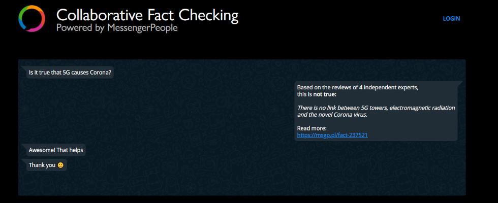 MessengerPeople kooperiert mit WhatsApp: Gemeinsam gegen Fake News