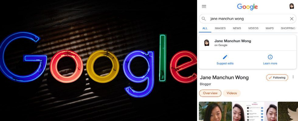Neue Search Cards bei Google aufgetaucht