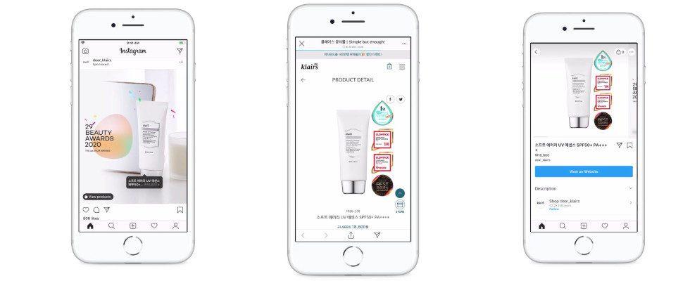 Neue Werbeoptionen vor den Feiertagen: Facebook launcht Products Tags für Instagram Ads