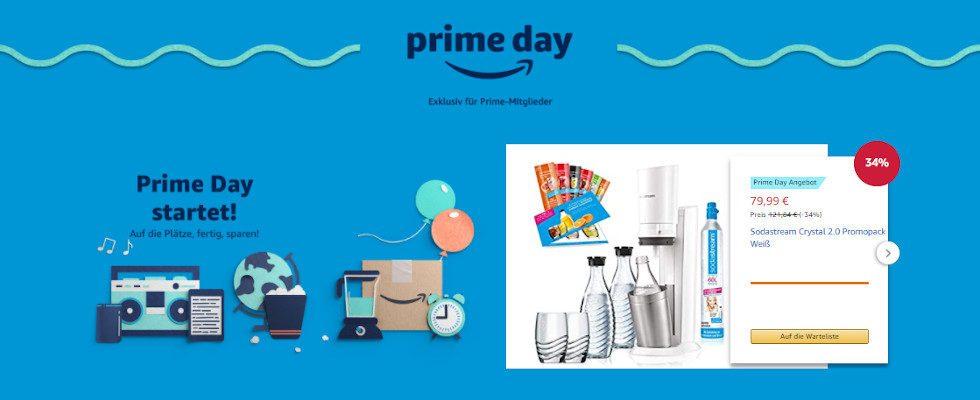 Amazon: Heute startet der Prime Day