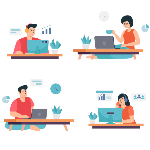 Remote Work fordert Arbeitnehmende und Unternehmen heraus, auch bei der Kommunikation,