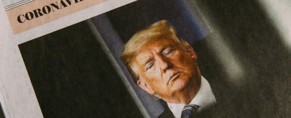 Facebook räumt auf: QAnon verbannt und Corona-Post von Trump gelöscht