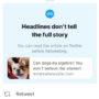 "Eine Headline verrät nicht alles: Twitter rollt ""Read it before you tweet it"" Feature aus"