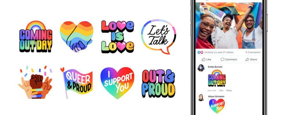 Facebook feiert den Coming Out Day 2020 mit neuen Tools und Guides