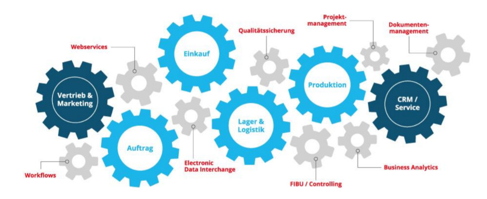 Whitepaper: In 4 Schritten das richtige ERP-System finden
