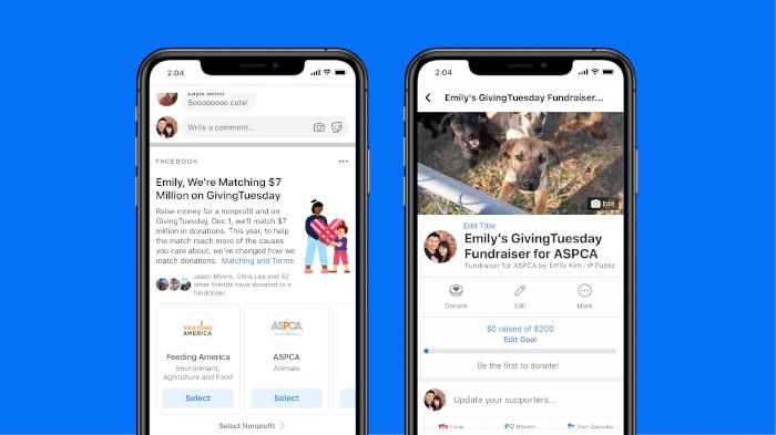 Facebook möchte dem Spenden auf der Plattform mehr Gewicht verleihen