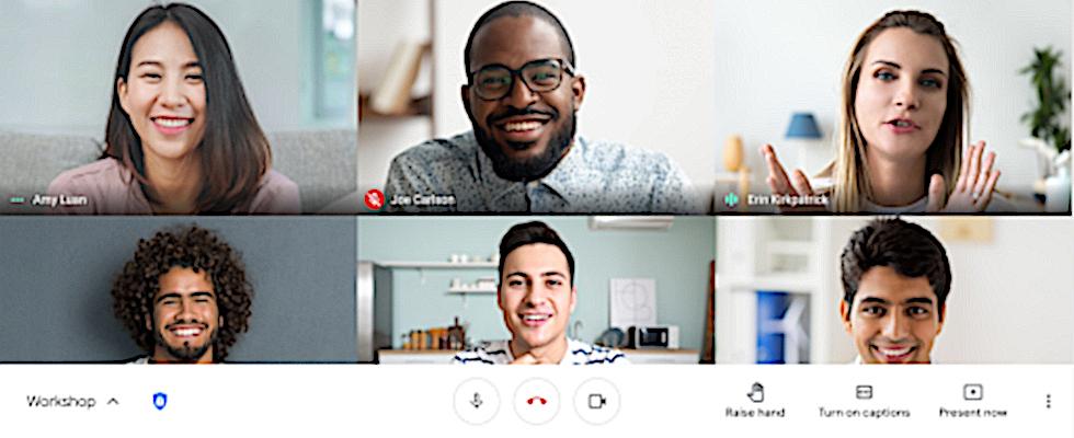 Neues Feature für Google Meet: Teilnehmer können jetzt die Hand heben