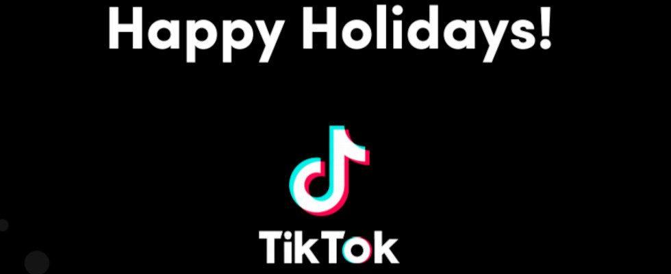 Holiday Playbook für KMU: TikTok gibt Tipps für die Festtage