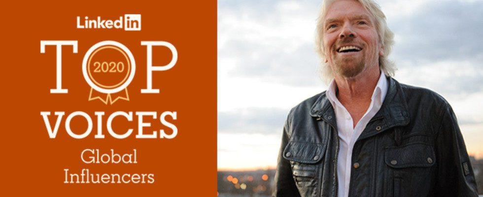 Macron, Lagarde und Branson: Das sind die 10 einflussreichsten User auf LinkedIn