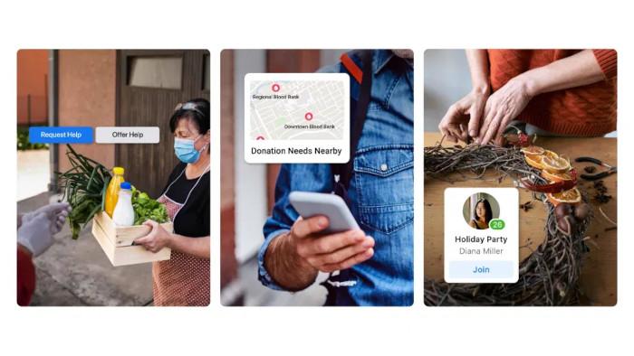 Spenden-Features von Facebook in Aktion