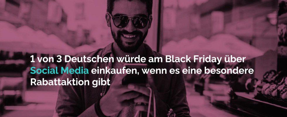 Black Friday 2020: Konsumenten aus Deutschland gehen vorwiegend Online auf Schnäppchenjagd