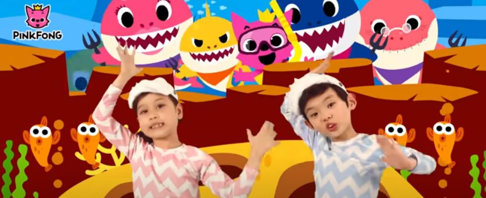 """Über 7 Milliarden Views: """"Baby Shark"""" ist das meistangesehene YouTube-Video aller Zeiten"""