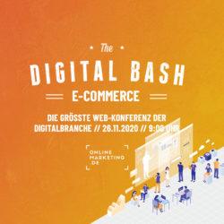 Insights und Tipps für deinen Online Shop bei The Digital Bash – E-Commerce