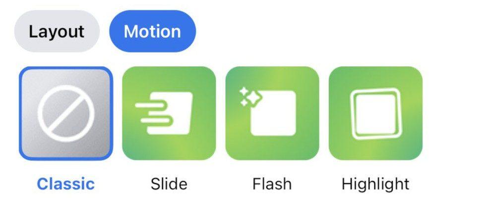 Facebook ergänzt Motion-Effekte für Fotos