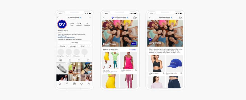 Von der Social App zur Commerce-Plattform? Instagram rollt Shop Tab aus