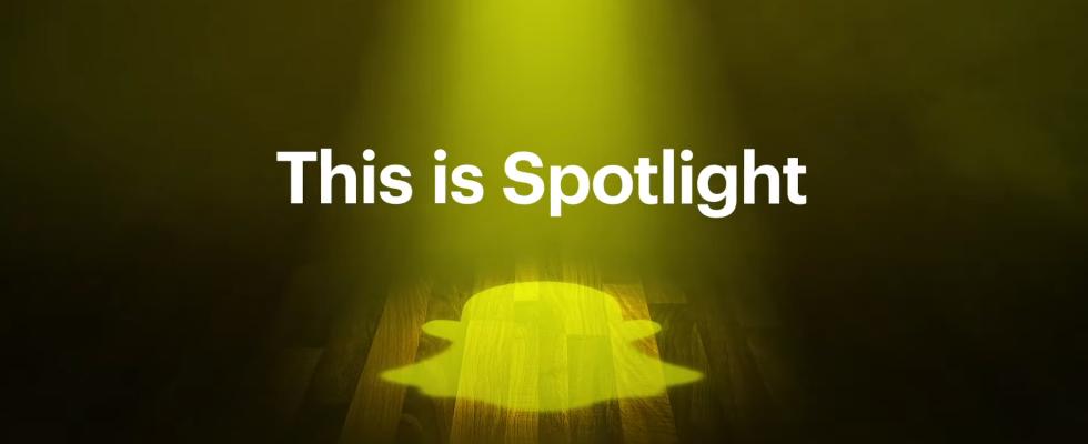 Snapchat kopiert mit Spotlight Konkurrenz-App TikTok