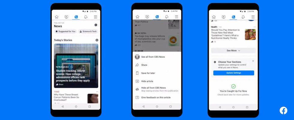 Ab Januar 2021: Facebook rollt News in Großbritannien aus